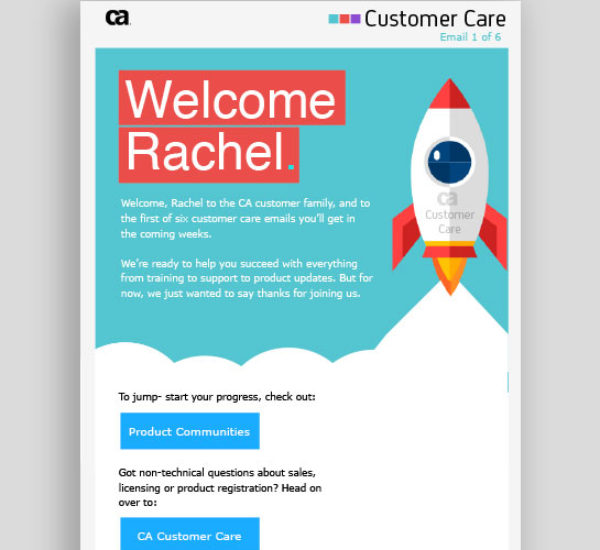 Personalized Customer Onboarding Emails