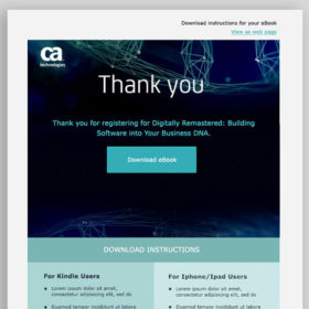 Download Instructions Responsive Email