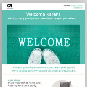 Marketo Editable Nurture Email Templates Set 1