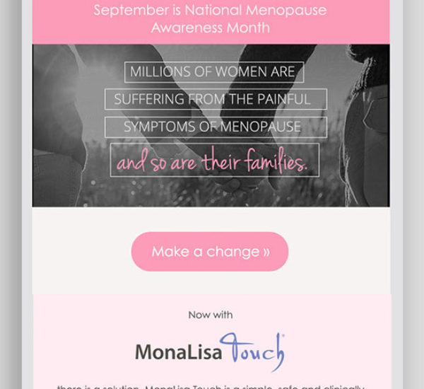 Responsive Women's Health Email Template